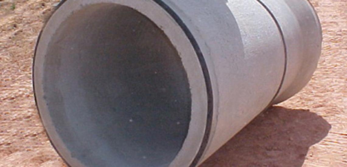 MG Premoldados investe na produção de tubos com junta elástica.